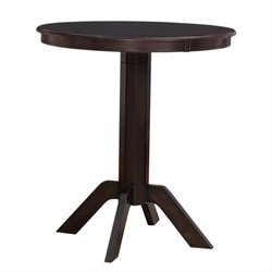 Pub Table in Merlot