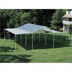 ShelterLogic Max AP 10'x20' 2-in-1 Canopy Pack with Extension Kit in White