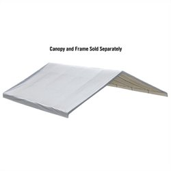 ShelterLogic 30'x30' Canopy Replacement Cover in White