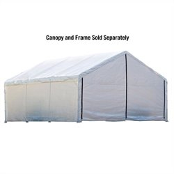 ShelterLogic 18'x40' Canopy Enclosure Kit in White