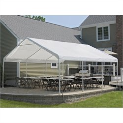 ShelterLogic Super Max 18' x 20' Premium Canopy in White