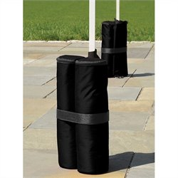 ShelterLogic Canopy Anchor Bag in Black (Pack of 4)