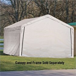 ShelterLogic Super Max 12'x26' Canopy Enclosure Kit in White