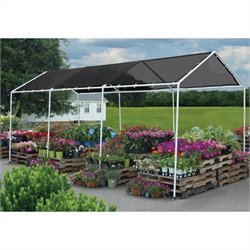 ShelterLogic 8'x20' Shade Canopy in Black
