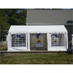 10'x20' Party Tent with Enclosure Kit