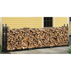Ultra Duty Firewood Rack in A Box in Black