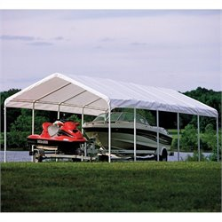 ShelterLogic Super Max 12' x 30' Canopy in White