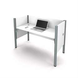 Bestar Pro-Biz Workstation in White