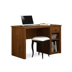 Bestar Somerville Computer Desk in Tuscany Brown
