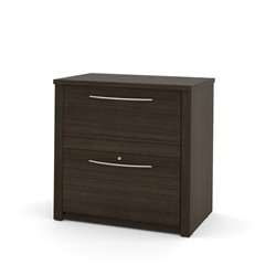 Bestar Embassy 2 Drawer Lateral File in Dark Chocolate