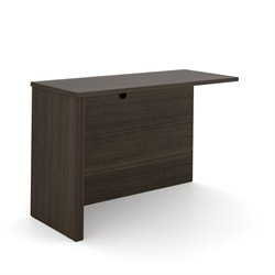 Bestar Embassy Return Table in Dark Chocolate