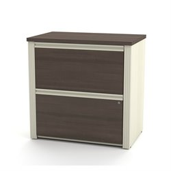Bestar Prestige Plus 2 Drawer Lateral File in Antigua