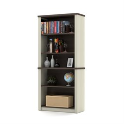 Bestar Prestige Plus 5 Shelf Modular Bookcase in Antigua