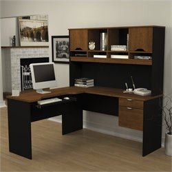 Innova L-Desk with Hutch