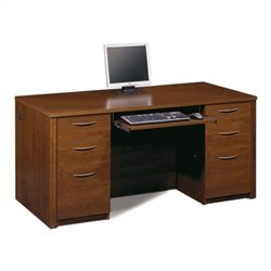Bestar Embassy Executive Desk Kit in Tuscany Brown