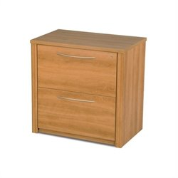 Bestar Embassy 36 Inch Lateral File in Cappuccino Cherry