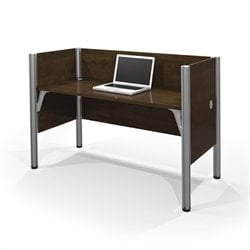 Bestar Pro-Biz Simple Workstation in Chocolate