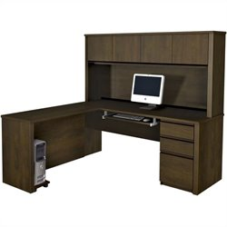 Bestar Prestige 5-Piece L-Shape Desk