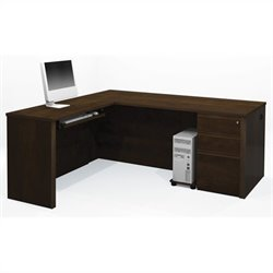 Bestar Prestige + 4-Piece L-Shape Desk