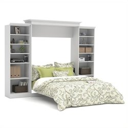 Bestar Versatile Queen Wall Bed with Storage