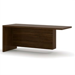 Bestar Pro-Linea Return Table in Oak Barrel