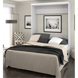 Bestar Pur Wall Bed in White