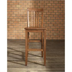 School House Bar Stool in Classic Cherry