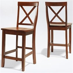 X-Back Bar Stool in Classic Cherry