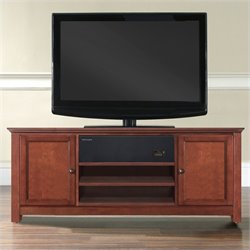 TV Stand with Sound Bar in Cherry