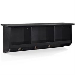 Crosley Brennan Entryway Storage Shelf in Black