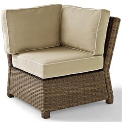 Bradenton Outdoor Wicker Sectional Corner Chair