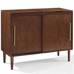 Crosley Everett Media Console in Mahogany