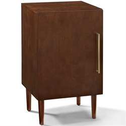 Crosley Everett Record Player Stand in Mahogany