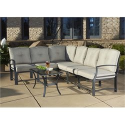Outdoor 7 Piece Patio Conversation Set