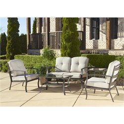 Outdoor 5 Piece Patio Conversation Set