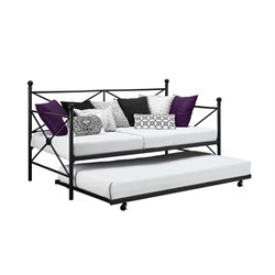 Daybed and Trundle in Black
