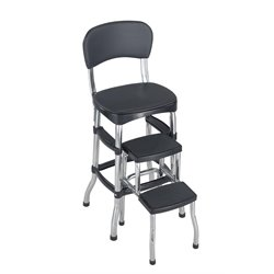 Stool and Counter Chair in Black
