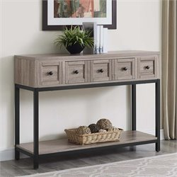 Console Table in Sonoma Oak