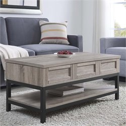 Lift Up Coffee Table in Sonoma Oak