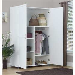 Wardrobe in White Aquaseal