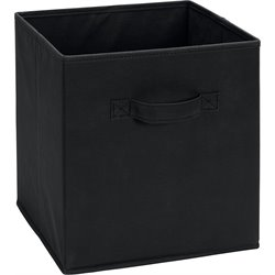SystemBuild Fabric Storage Bin in Black
