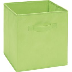 Fabric Storage Bin in Green