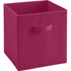 Fabric Storage Bin in Pink