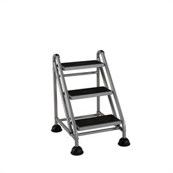 3-Step Rolling Step Ladder