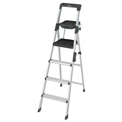 6' Premium Aluminum Step Ladder
