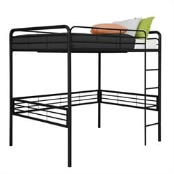 Full Loft Bed in Black