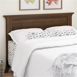 Wood Full Queen Panel Headboard in Homestead Oak