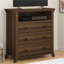 3 Drawer Media Chest in Homestead Oak