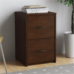 2 Drawer Filing Cabinet in Resort Cherry