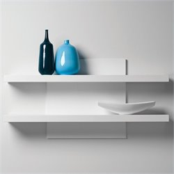 Mobital Cargo Wall Shelf in High Gloss White